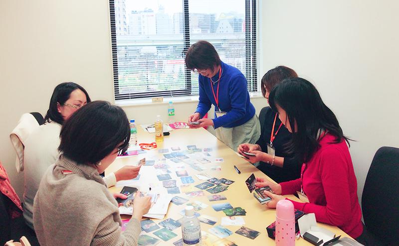強みカード・強み発掘1Day講座の様子